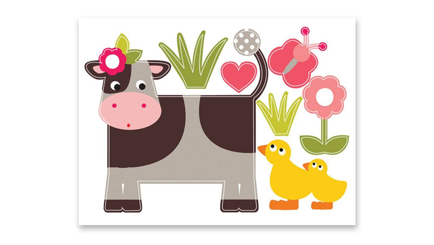 Wall Stickers  mucca
